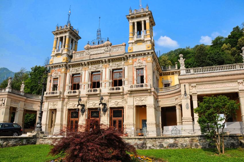 La sede del convegno a San Pellegrino Terme