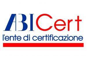 Logo ABICert_fascia rossa